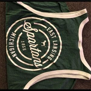 Michigan State Victoria's Secret PINK tank top